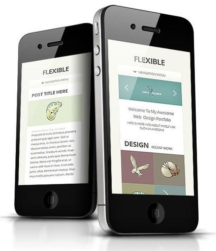 Flexible Responsive WordPress Portfolio Theme | bxcv | Scoop.it