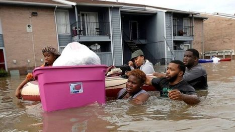 Houston floods: Disaster zone declared after 'historic' rainfall - BBC News | OCR AS Geography | Scoop.it