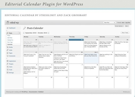 How to Create a Social Media Editorial Calendar - Search Engine ... | Multimedia Journalism | Scoop.it