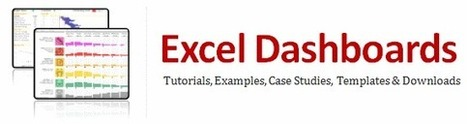 Excel Dashboards | ti | Scoop.it
