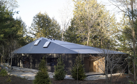 Clear Lake Cottage   MacLennan Jaunkalns Miller Architects   Clear Lake, Seguin Township, Ontario   Featured Houses   Architectural Record   Idées d'Architecture   Scoop.it