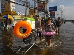 Thailand flooding threatens Bangkok – gallery   Year 5 Geography: Flooding in the Asia region   Scoop.it