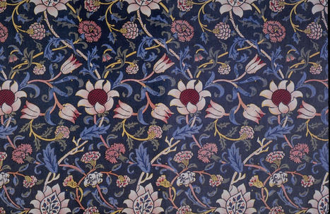 Floral Indian print | Year 3-4 Arts: Visual arts - Indian patterns | Scoop.it