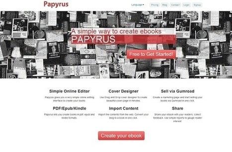 Papyrus Editor, una sencilla herramienta para crear desde cero un eBook | El Content Curator Semanal | Scoop.it