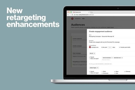 Enhancements for even more targeted campaigns | Pinterest for Business | Scoop.it