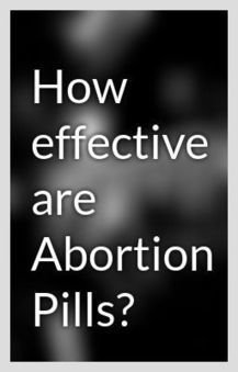 How effective are Abortion Pills? - Wattpad | Womens Health Issues | Scoop.it