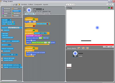 SCRATCH en la educación escolar | paprofes | Scoop.it