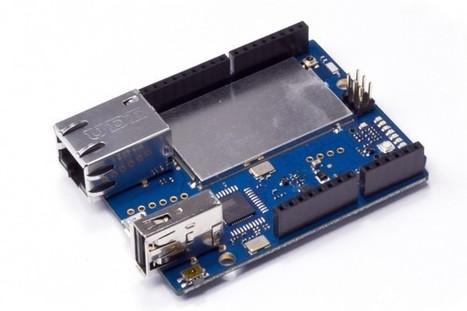 Arduino Yùn : Une nouvelle carte officielle qui combine Arduino, WIFI et Linux. | Semageek | technologie 4ème | Scoop.it