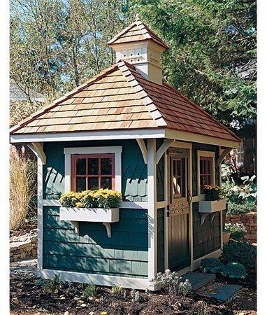 Romantische Gartenhäuser | Backyard sheds | Scoop.it