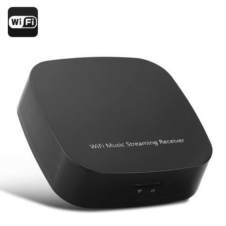 Wireless Wi-Fi Music Streaming Receiver (150Mbps, Supports DLNA/Airplay/Qplay) | cool electronics gadgets | Scoop.it