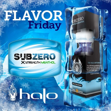 Flavor Friday: SubZero E-liquid | E-Liquid | Halo Cigs | Scoop.it