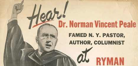 The Success Gospel of Norman Vincent Peale and Donald Trump | Eclectic & Fascinating | Scoop.it