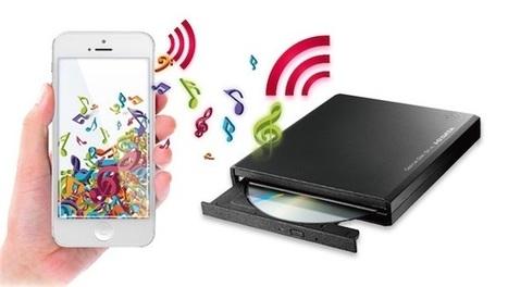Un lecteur de CD sans fil pour les appareils mobiles | Le Mobile | Scoop.it