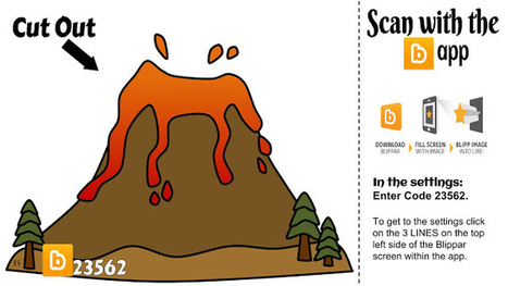 Diary of a Techie Chick: Augmented Volcano for an Interactive Notebook ... #AR4Learning | RED.ED.TIC | Scoop.it