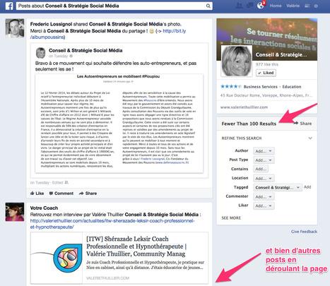 Veille sur une marque grâce au Graph Search sur Facebook | Reseaux Sociaux | Scoop.it