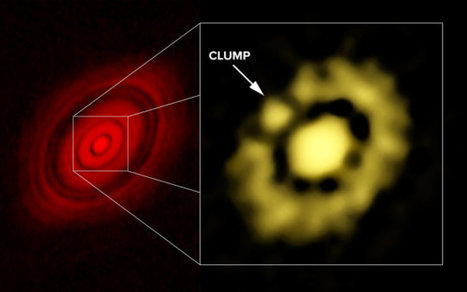 Astronomers see unprecedented detail of inner portion of protoplanetary disk | Amazing Science | Scoop.it