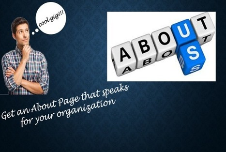 Get an About Us page to make your prospects truly yours | Story of a Content Writer | Scoop.it