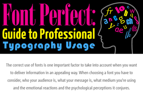 9 Good Typography Usage Tips and Examples - BrandonGaille.com | typography | Scoop.it