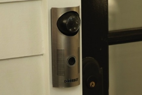 Featured: WiFi Enabled Doorbell Allows Remote Monitoring [Future Of Home Living] | Swiss Startup Founders | Scoop.it