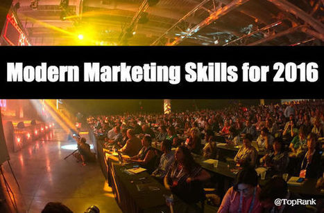 Essential Skills for Modern Marketers | B2B Marketing and PR | Scoop.it