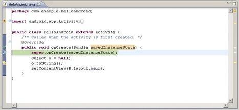 Hello, World   Android Developers   1-MegaAulas - Ferramentas Educativas WEB 2.0   Scoop.it