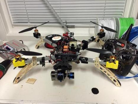 Building a Quadcopter with a CNC Mill and a 3D Printer | UA - IMPRESSION 3D | Scoop.it
