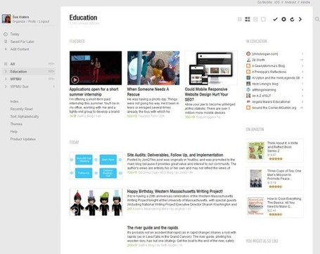 Educators' Guide to RSS and Google Reader Replacements | The Edublogger | Android Apps in Education | Scoop.it