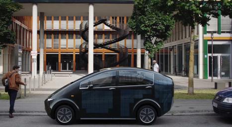 Équipée de panneaux solaires, cette voiture électrique peut se recharger toute seule | TRANSITURUM | Scoop.it