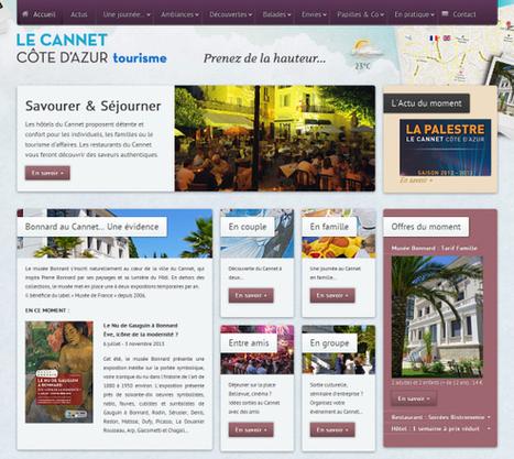 Nouveaux sites web de destinations touristiques (Octobre 2013) | etourisme et réseaux sociaux | Scoop.it