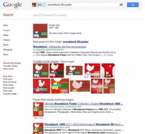 Google realiza mejoras en su buscador por imágenes | Herramientas digitales | Scoop.it