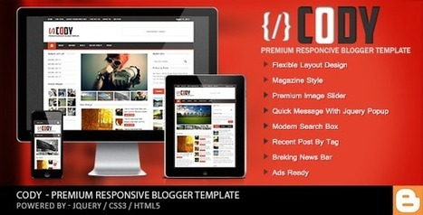 Cody Blogger Templates Free Download - GuidePedia | www.guidepedia.info | Scoop.it