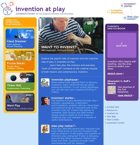 Lemelson Center presents Invention at Play | KB...Konnected's  Kaleidoscope of  Wonderful Websites! | Scoop.it