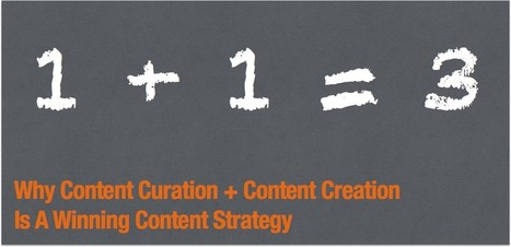 Why Content Curation + Content Creation is a winning content strategy | Edumorfosis.it | Scoop.it