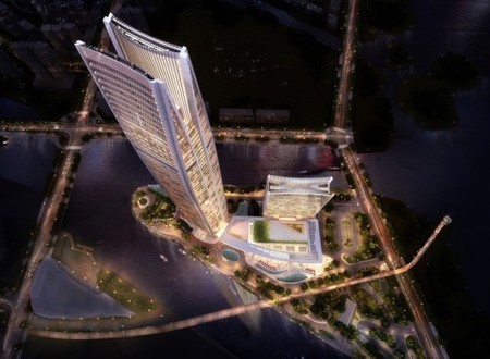 [Zhejiang, China] Woods Bagot Reveals Design for Wenling Sheraton | The Architecture of the City | Scoop.it