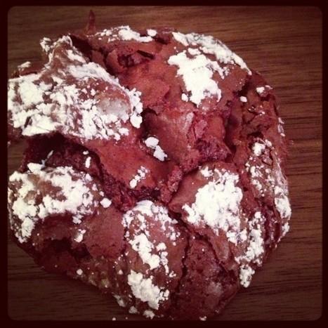 Flourless Dark Chocolate Cookies — Grace(full)Plate | greentea | Scoop.it