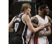 Nets notch fifth straight win over frustrated LeBron, banged upHeat   NBA News and Notes   Scoop.it