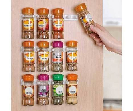 Wall Spice Rack as a Part of Kitchen Organization | Exist Decor | home | Scoop.it