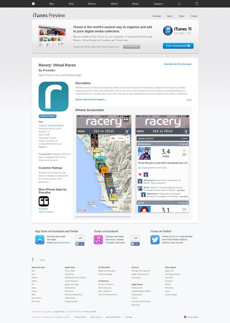 Friend @hc Cool New @Racery App in Apple Store! #toogood #startups  | Startup Revolution | Scoop.it