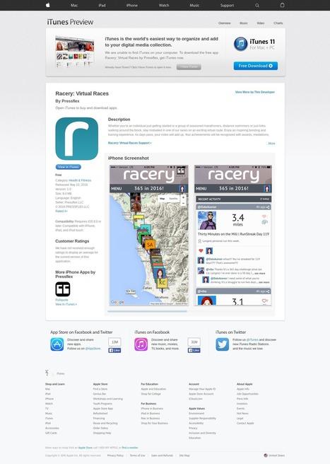 Friend @hc Cool New @Racery App in Apple Store! #toogood #startups | Startup Revolution | Scoop.it