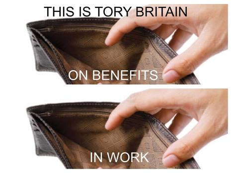 Conservatives plan stealth raid on in-work benefits and the long-term phasing out of child benefit | Welfare, Disability, Politics and People's Right's | Scoop.it