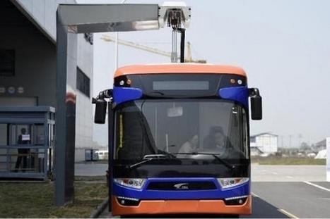 Un bus électrique qui se recharge en 10 secondes   Efficycle   Scoop.it