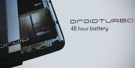 Verizon Debuts Droid Turbo Smartphones, Brings 2 Days of Battery Life | Technology News | Scoop.it