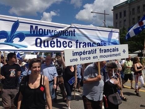 Mouvement Québec français | Le Mouvement Québec français… en marche! | Mondialisation et individualité! | Scoop.it