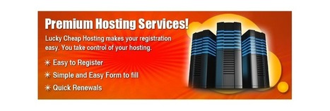 Lucky Cheap Hosting - Home   cheap hosting   Scoop.it