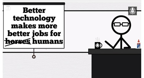 Scary Smart Video Predicts Automation Will Make Human Work Obsolete | Peer2Politics | Scoop.it
