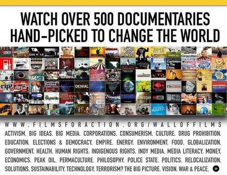 Wall of Films! | Over 500 Social Change Documentaries on 1 Page | LearningTeachingTeachingLearning | Scoop.it