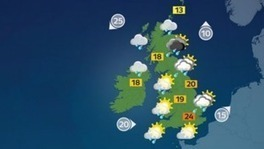 Heavy rain and sunny spells create mixed picture - ITV News | Alchemisty | Scoop.it