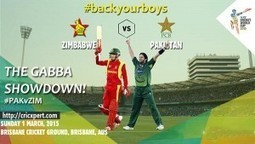» Pakistan vs Zimbabwe live streaming score – World Cup match Pak vs ZimCricXpert   Scoops   Scoop.it