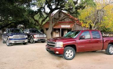 Dodge Ram vs. Ford F-150 and Chevy Silverado - Comparison Tests   Honda Automotive Technicians   Scoop.it