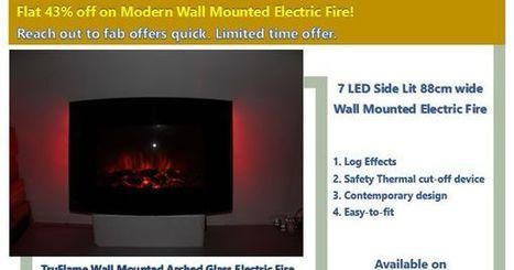 Wallmounted Electric Fires | Digital Brands | Scoop.it
